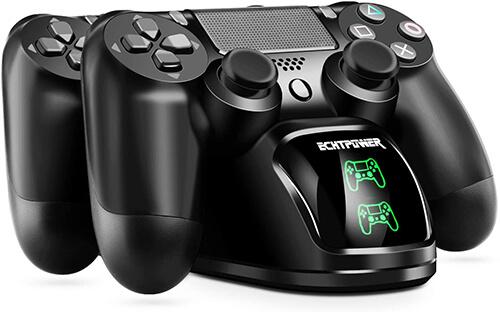 بهترین وسایل PS4: پایه شارژر