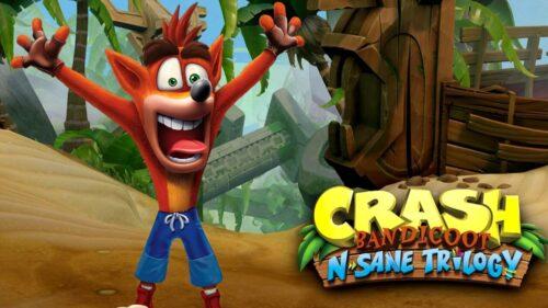 بازی Crash Bandicoot N. Sane Trilogy برای پلی استیشن 4