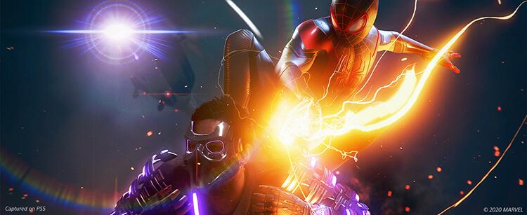 گیم پلی بازی Spider-Man: Miles Morales برای PS5
