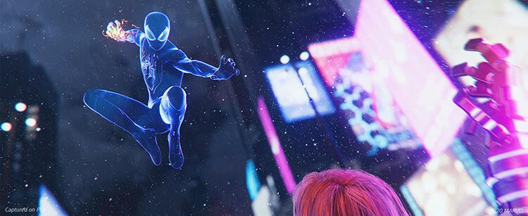 صحنه های بازی Spider-Man: Miles Morales برای PS5