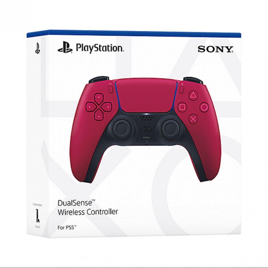 جعبه کنترلر DualSense قرمز