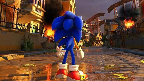 بازی Sonic Forces: Bonus Edition سونیک برای ps4