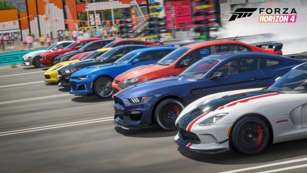 بازی رالی Forza Horizon 4 برای xbox one