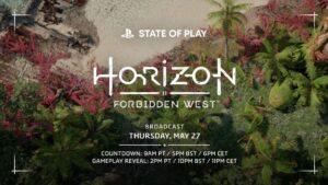 رونمایی از گیم پلی Horizon Forbidden West در مراسم بعدی State of Play !