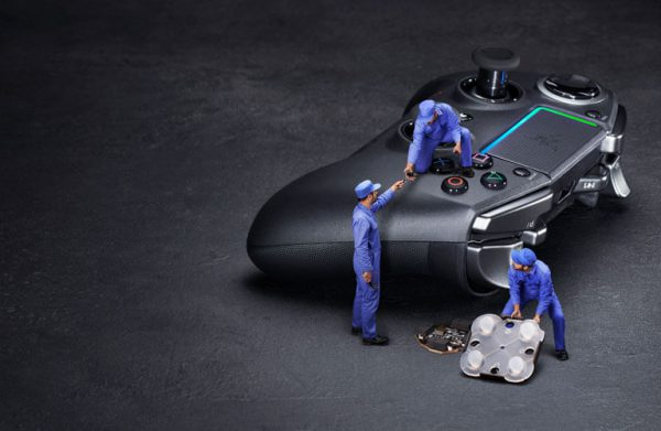 کنترلر Razer Raiju Ultimate Wireless PS4 بهترین دسته ps4 حرفه ای