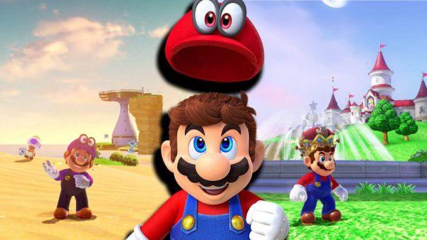 بازی Super Mario Odyssey انحصاری برای نینتندو