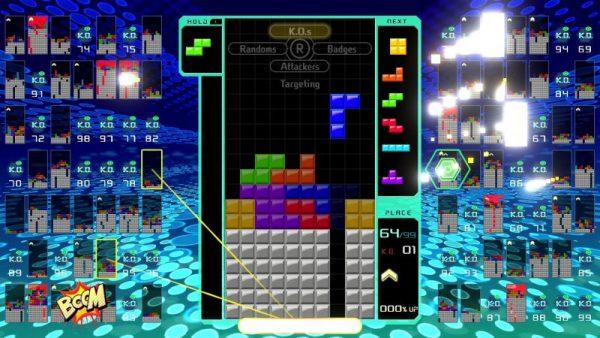 برترین بازی های نینتندو سوییچ:Tetris 99