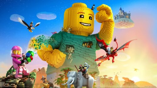 بازی Lego Worlds برای دختر